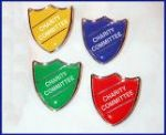 CHARITY COMMITTEE - SHIELD Lapel Badge